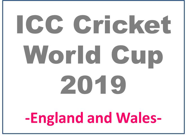 WorldCup2019-Cricket-England-Wales